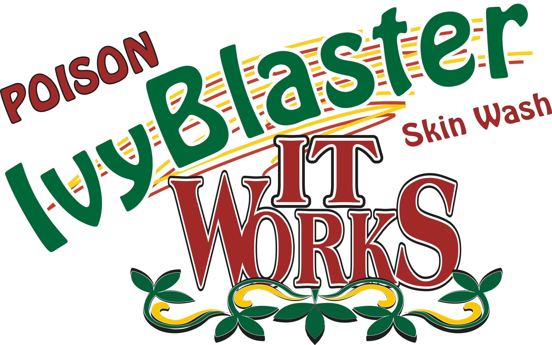 Poison Ivy Blaster Logo Header Poison Ivy Oak Sumac Skin Wash Treatment